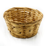 Small Woven Round Basket - Light