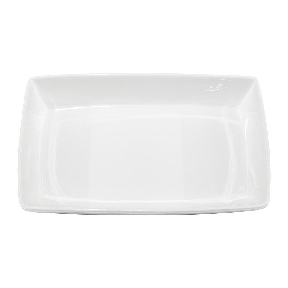White China Baker Dish 11 Inch