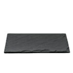 "10"" x 14"" Black Slate Display Stone"