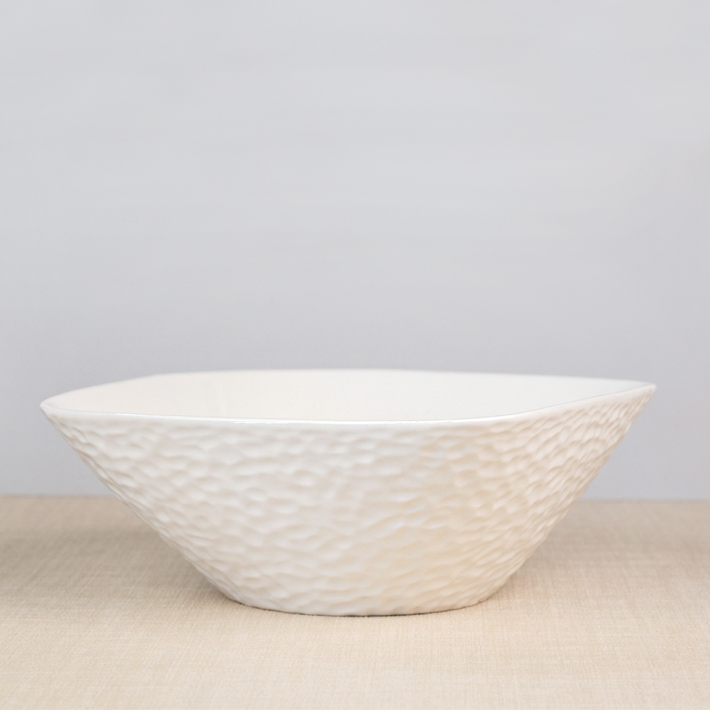 Dimple Square Bowl