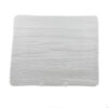 White China Rectangular Wood Grain Platter