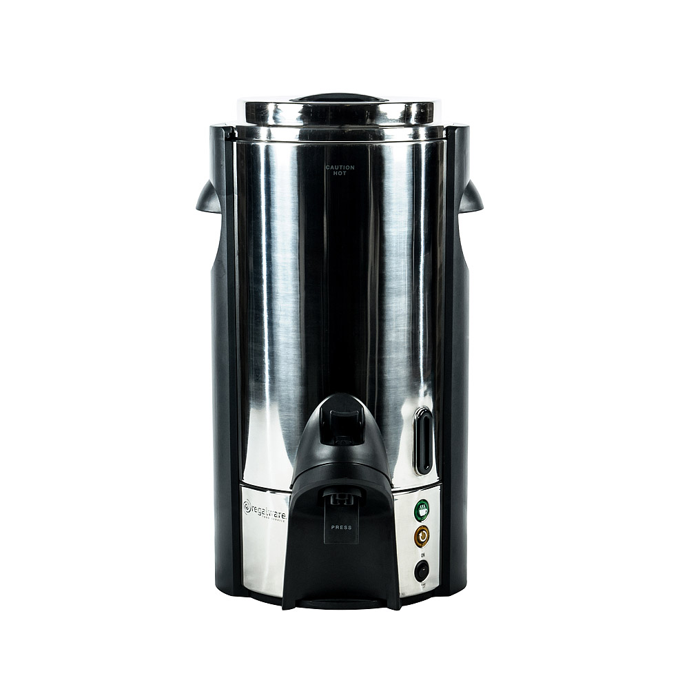 Coffee Maker Rental : 100 Cup Polished Stainless Steel Coffee Maker American Party Rentals