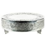 22-Inch-Round-Silver-Cake-Riser