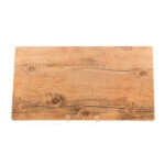 Large Melamine Wood Grain Platter