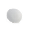 White China Round Wood Grain Platter - 2