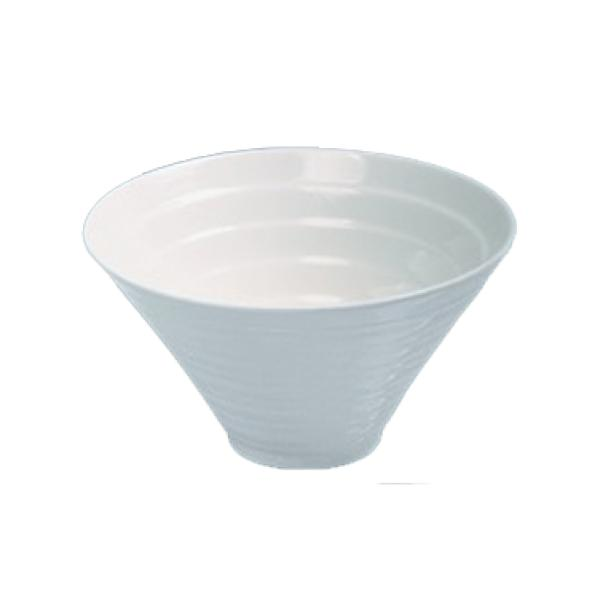 White China Cone Bowl