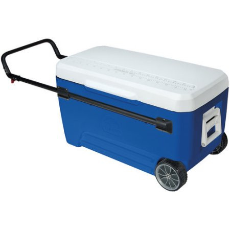 110 Quart Ice Chest with Wheels