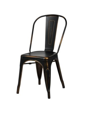 Antique Black Oscar Chair