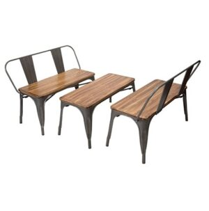 Elio Bench/Table Set