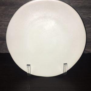 """10.75"""" Ripple Linen Dinner Plate"""