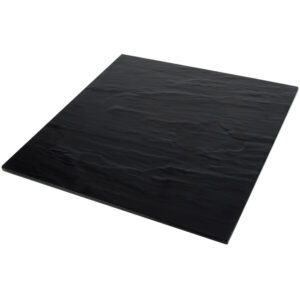 """14.5"""" Faux Slate Platter"""