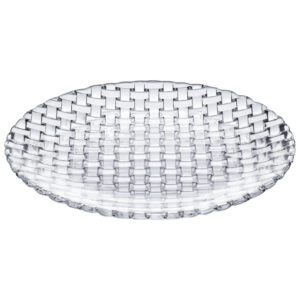 "9"" Bossa Nova Crystal Accent Plate"