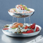 3-Tier Hammered Seafood Tray