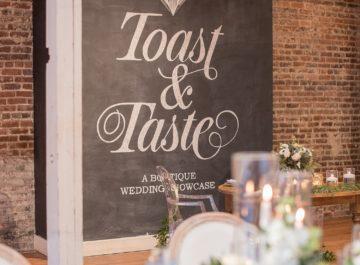 Toast & Taste <br> 2017