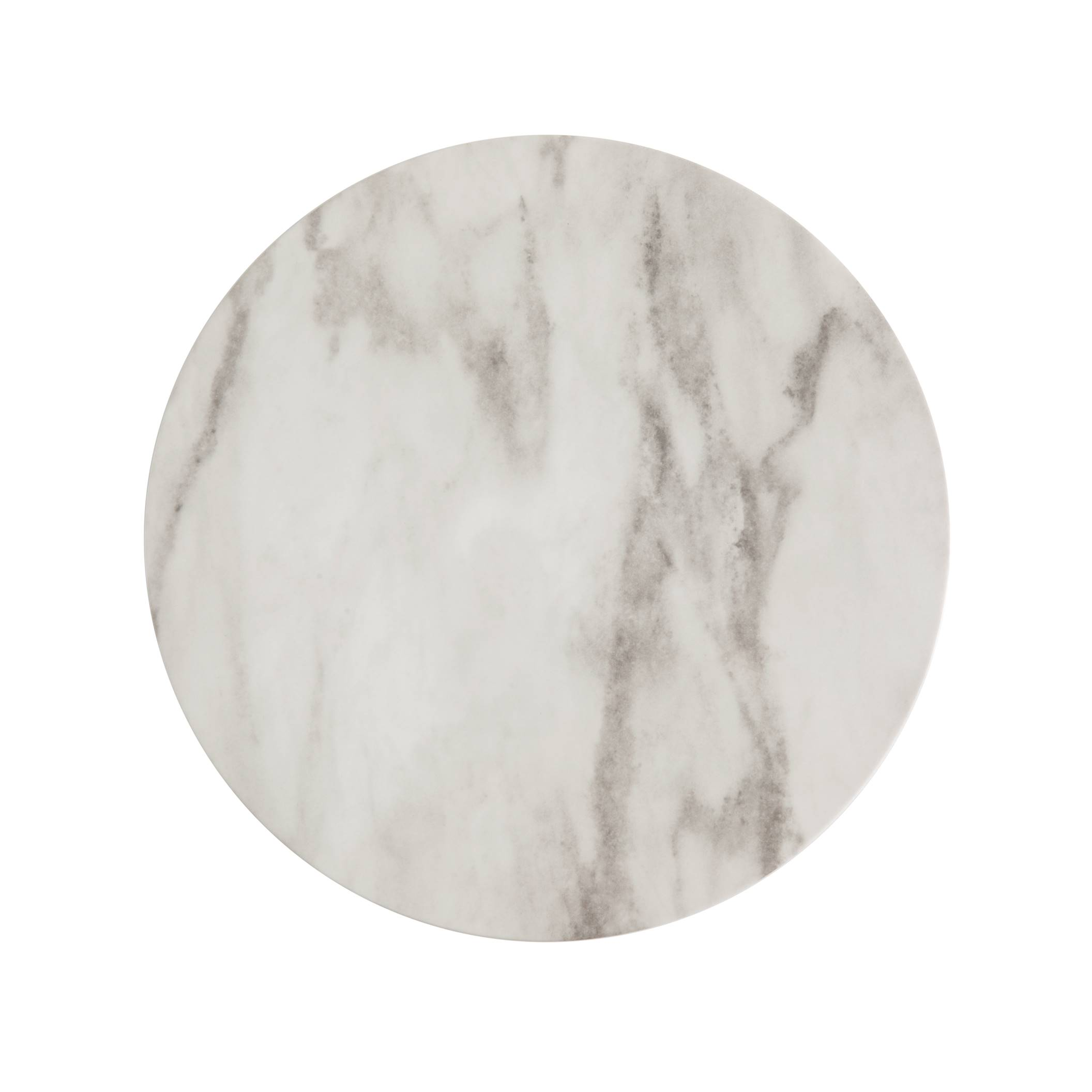 "13"" Marble Melamine Charger"