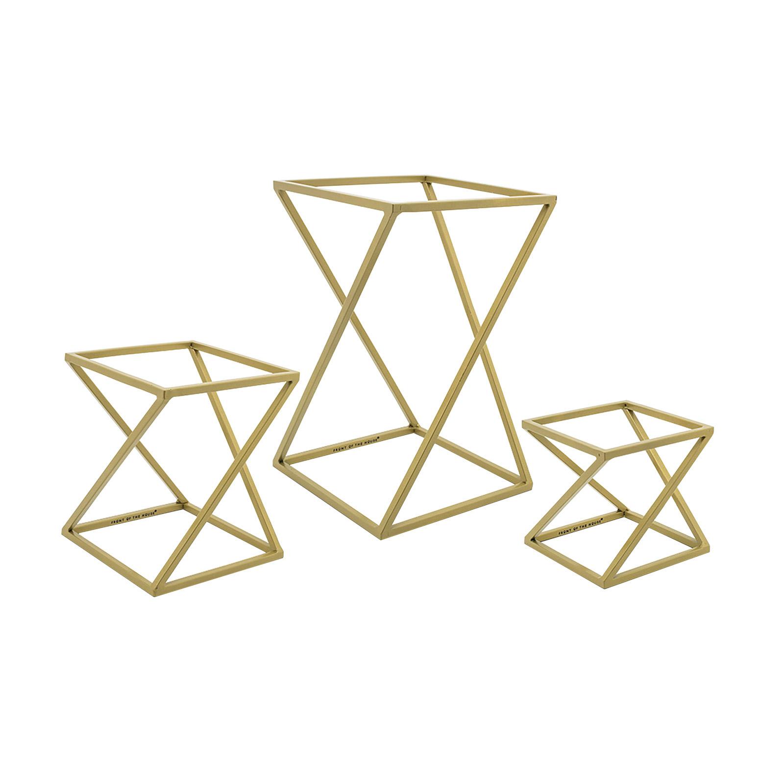 Gold Twist Risers