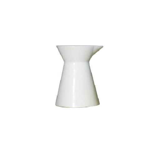 9 oz. White China Hourglass Sauce Dressing