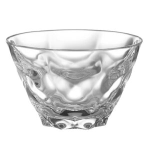 "4.5"" Groovy Glass Bowl"