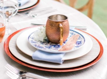 Copper & Blue </br> Inspiration Shoot