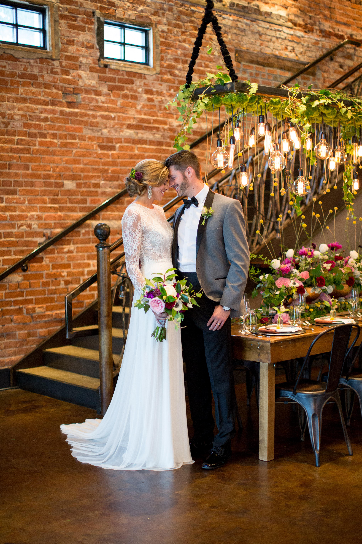Warehouse Wedding </br> SB&G Photo Shoot