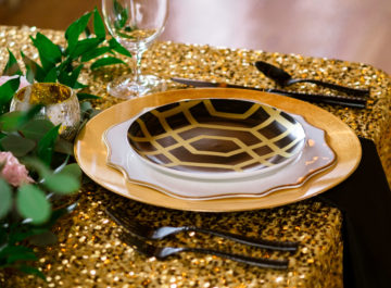 Black & Gold </br> Inspiration Shoot